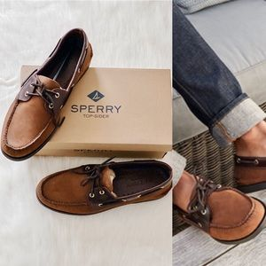 ✨New SPERRY Authentic Original Leather Boat Shoes